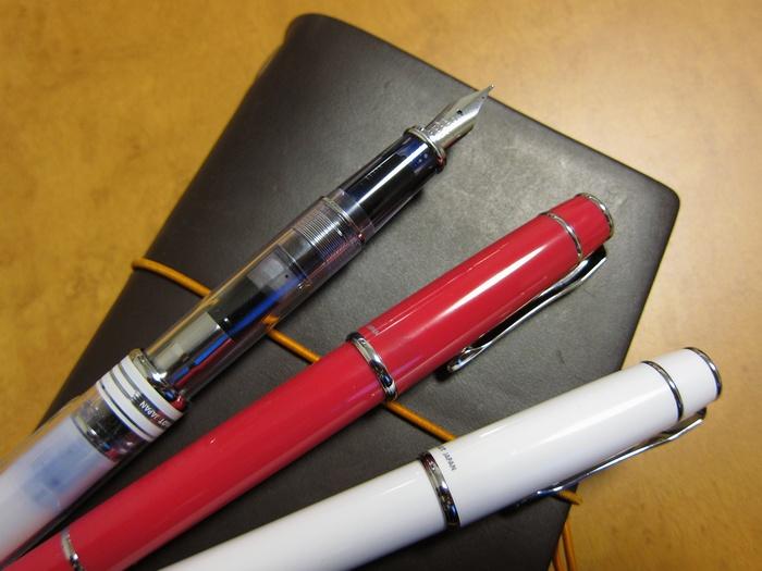 トラベラーズと万年筆